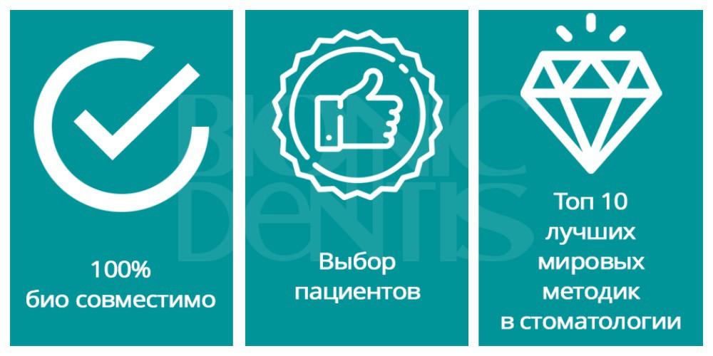 """Протез нового поколения в стоматологии """"Бионик Дентис"""""""